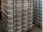 egymásra rakható szállítódobozok 450x300x200mm