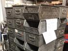 Mixed storage bins, perforated, sheet steel
