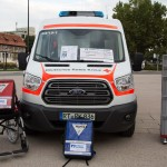 mit Spenden gefördertes DRK Fahrzeug