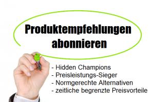 Produktempfehlungen Abonnieren